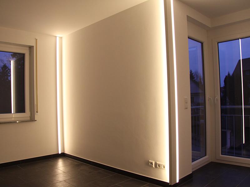 led wohnraumbeleuchtung pollicht design. Black Bedroom Furniture Sets. Home Design Ideas