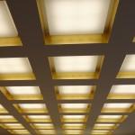 LED-Leuchtendecke in der Domsakristei